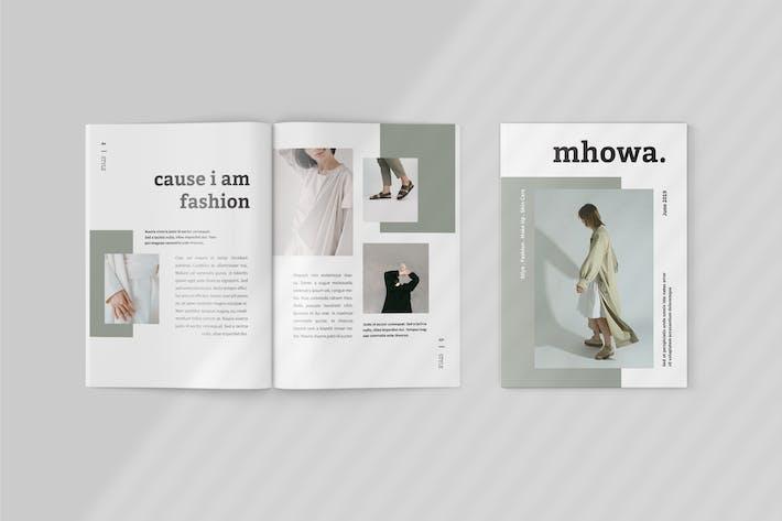 Thumbnail for Mhowa - Fashion Lookbook Template
