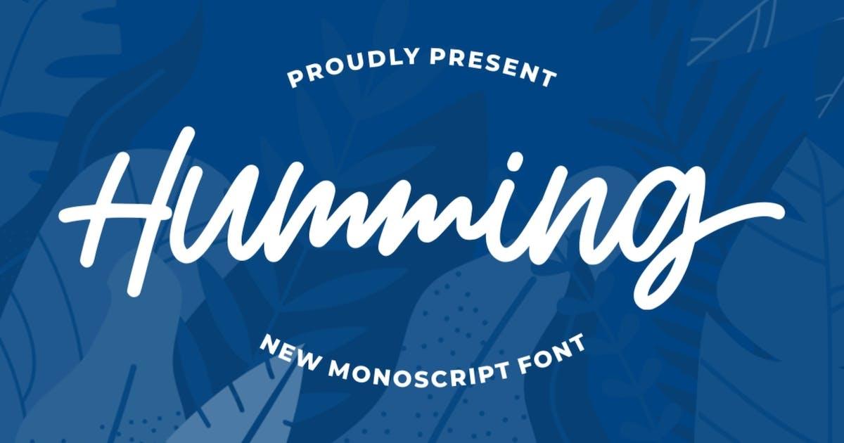Download Humming | Monoscript Font by garisman