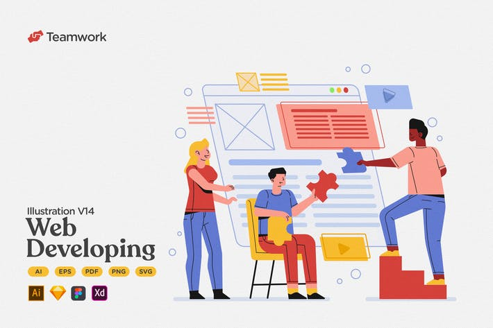 Teamwork - Web Developing Collaboration