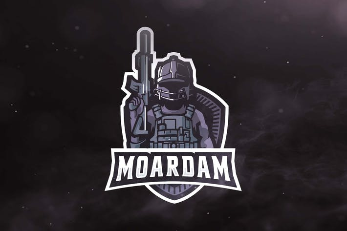 Thumbnail for AF Army Sport and Esports Logos