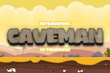 Caveman - Gaming Font