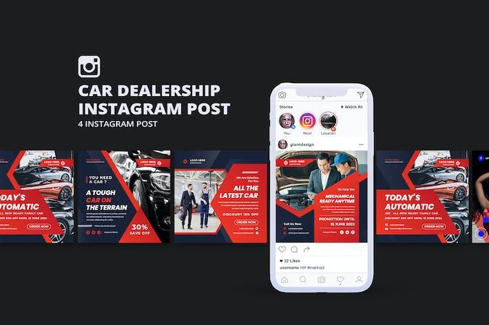 Car Dealership Instagram Post Template