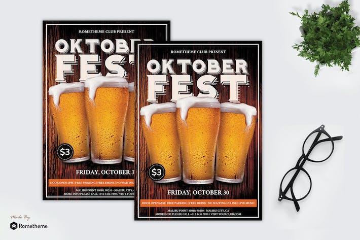Thumbnail for Oktoberfest - Party Flyer RB
