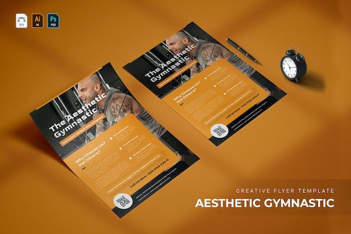 Aesthetic Gymnastic | Flyer
