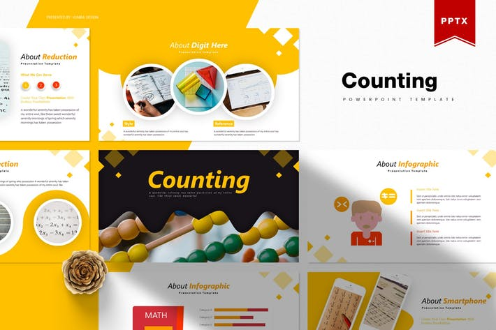 Thumbnail for Counting | Powerpoint Template