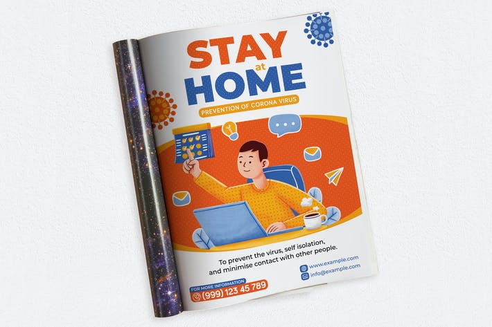 Thumbnail for Stay At Home Ads Magazine