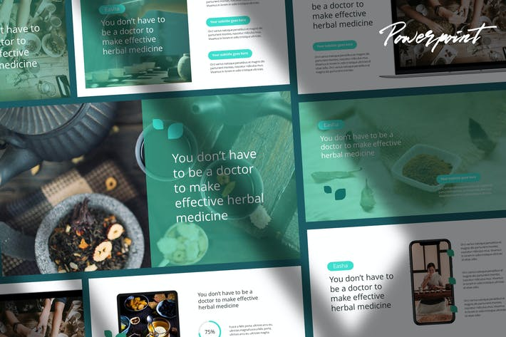 Thumbnail for Easha - Medical & Herbs Presentation Template