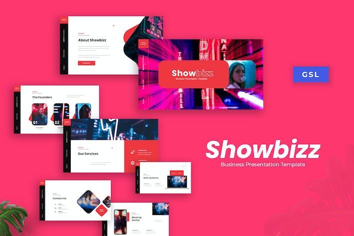 Thumbnail for Showbizz - Business Presentation Template