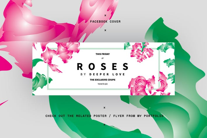 Roses Facebook Cover
