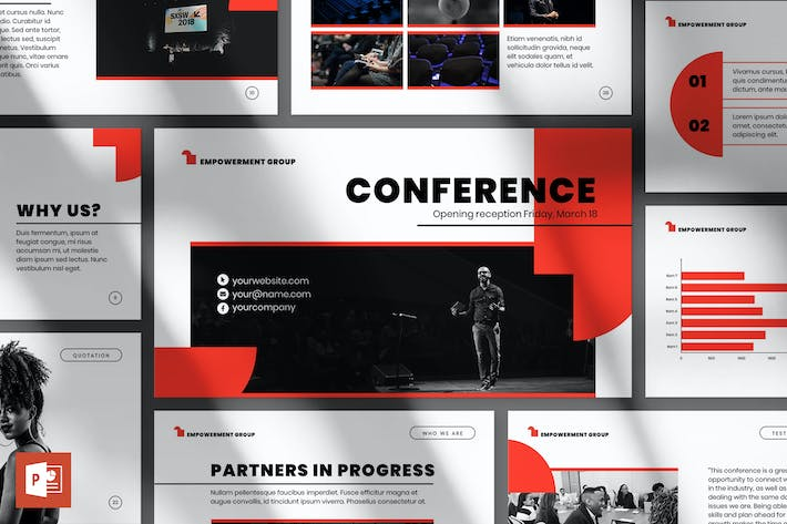 Thumbnail for Conference PowerPoint Presentation Template