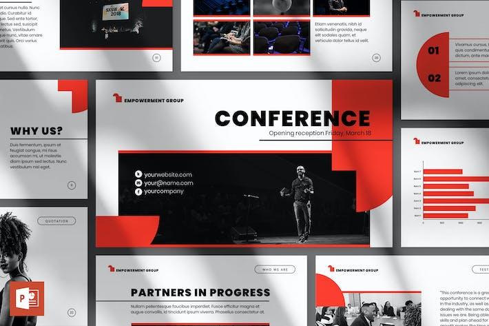 Thumbnail for Шаблон презентации конференции PowerPoint