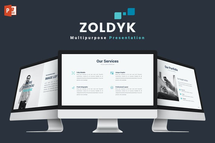 Thumbnail for Zoldyk - Powerpoint Template