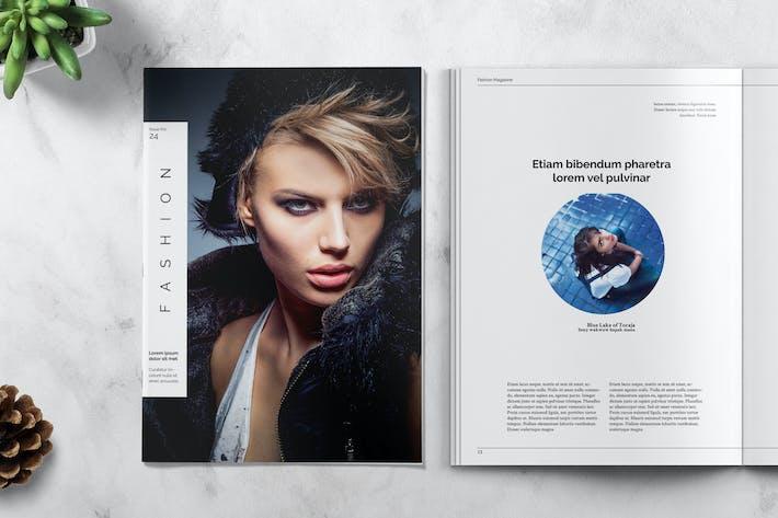 Thumbnail for FASHION - Magazine Template