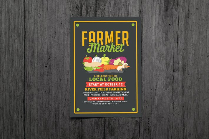Thumbnail for Farmer Food Market Flyer
