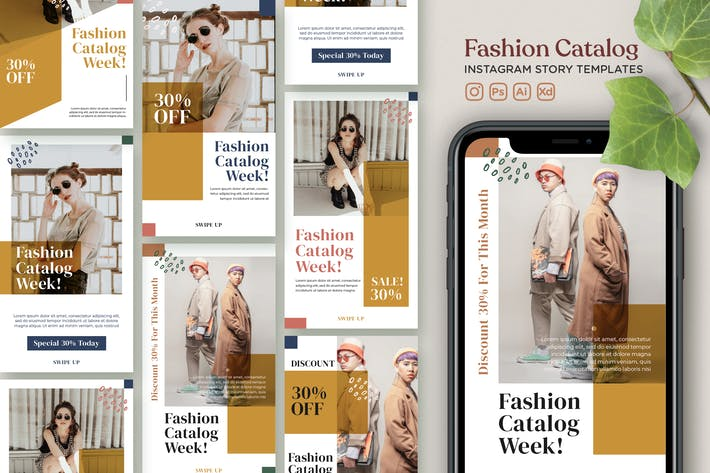 Thumbnail for Instagram Story Template Vol.22 Fashion Catalogue