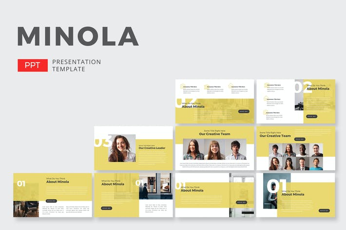 Thumbnail for Minola Business - Powerpoint