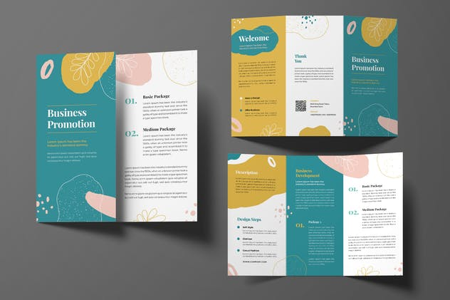 Business Trifold Brochure - product preview 0