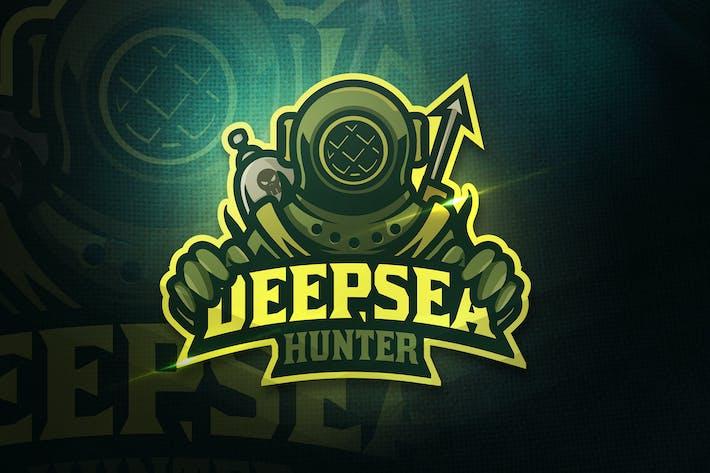 Thumbnail for Deepsea Hunter - Mascot & Esport Logo