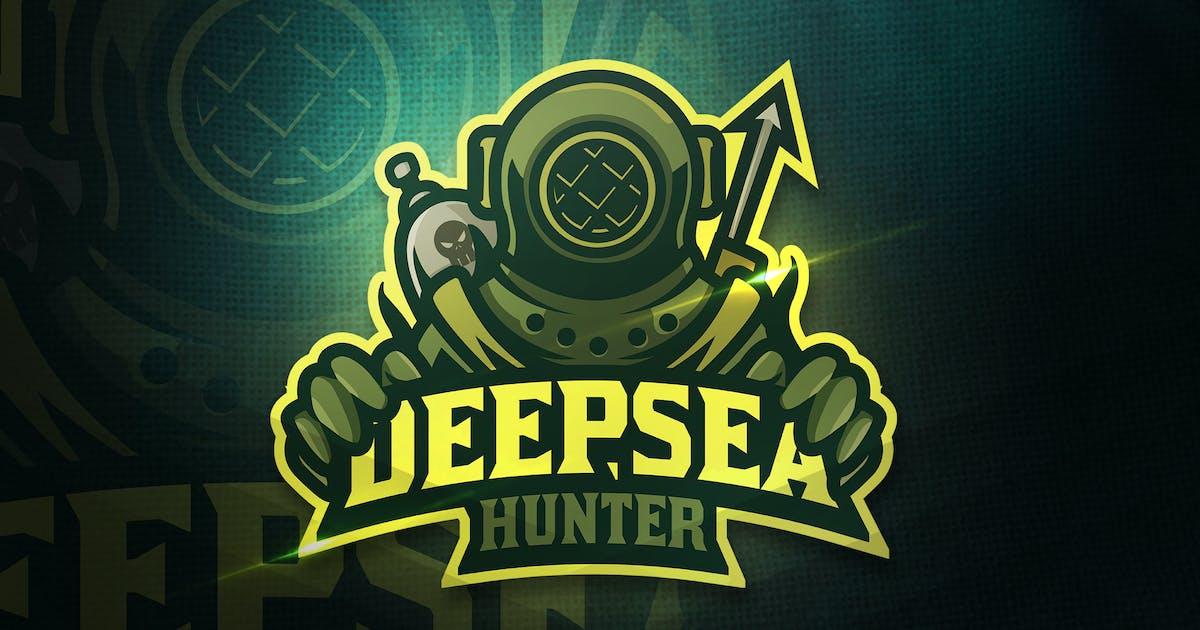 Download Deepsea Hunter - Mascot & Esport Logo by aqrstudio