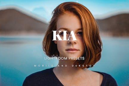 Пресеты Kia Lightroom Декстоп и мобильный