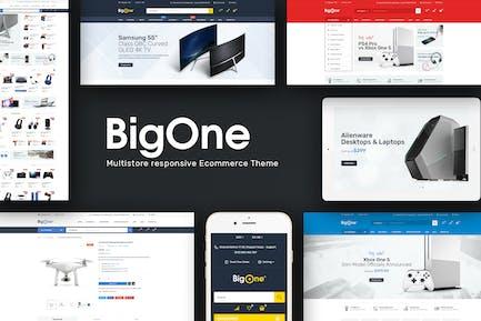Bigone - Responsive Magento Thème