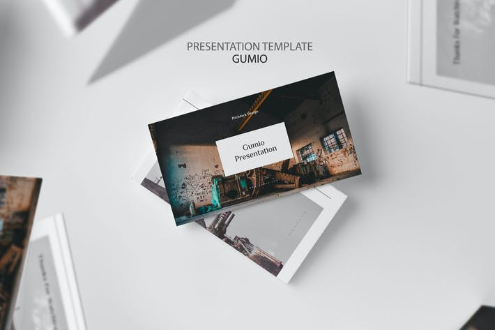 Gumio : Pitch Deck Powerpoint