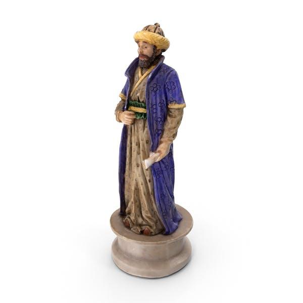 Chess Piece Bishop Black
