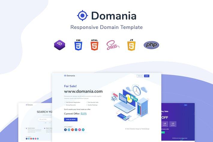 Thumbnail for Domania - Plantilla de dominio adaptable