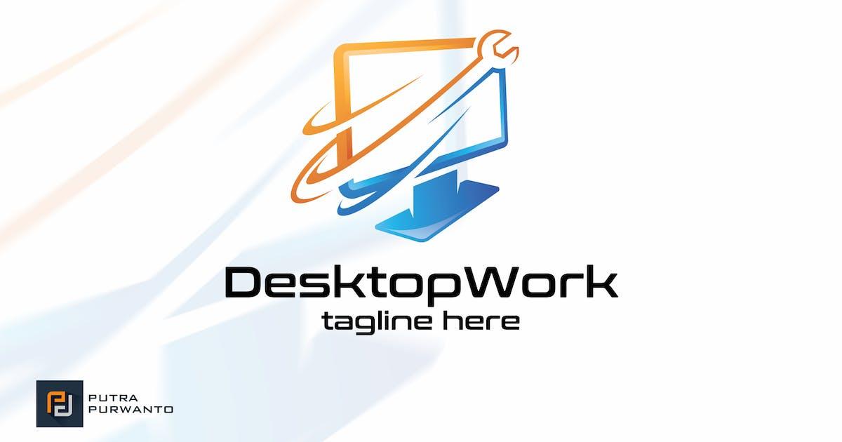 Download Desktop Work - Logo Template by putra_purwanto