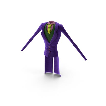 Toon Joker Suit