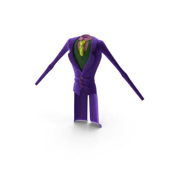Traje Toon Joker