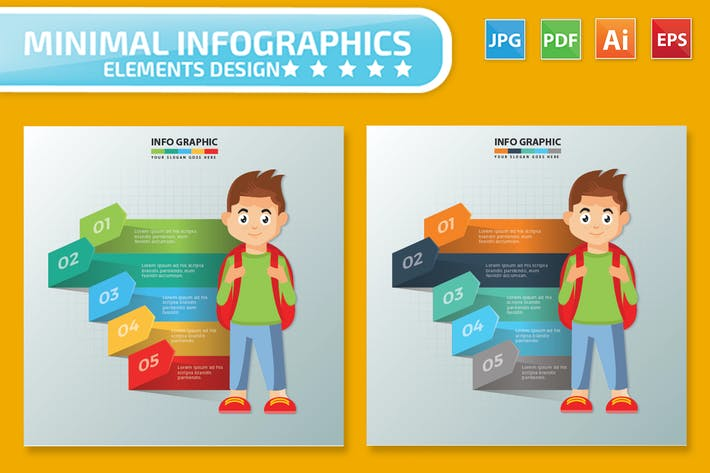 Thumbnail for Student design infographic Design
