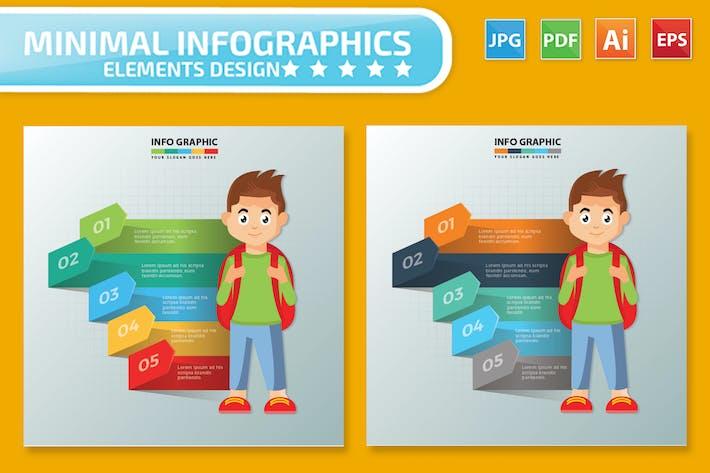 Thumbnail for Student Design infographic Design