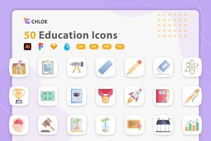 Chloe - Bildung Icons