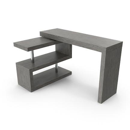 Moderner, moderner L-förmiger Schreibtisch