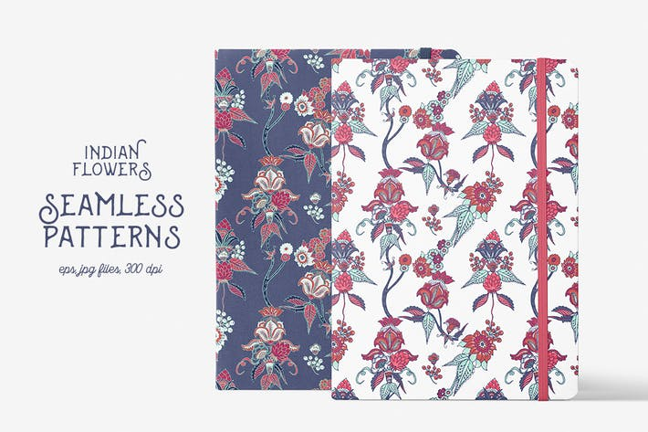 Thumbnail for Indian Flowers Patterns