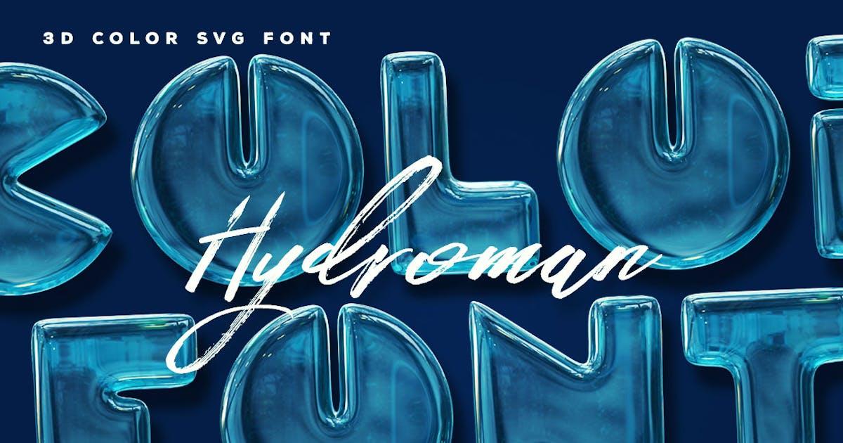 Download Hydroman Color Font by cruzine