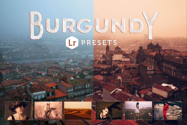 Thumbnail for Burgundy Lightroom Presets