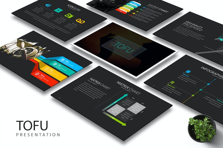 Tofu - Keynote Template by Artmonk on Envato Elements