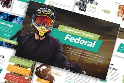 Federal - Sports Template Prensentation