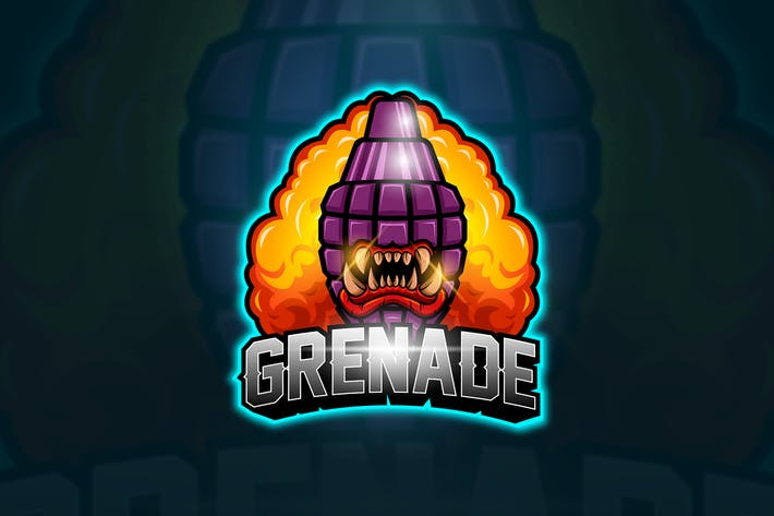 Cover Image For Grenade - Mascot & Esport Logo