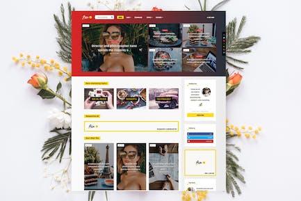Bouplay WP - Personal News / Magazine Theme