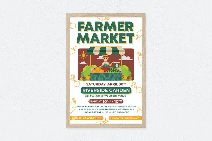 Thumbnail for FARMER MARKET poster