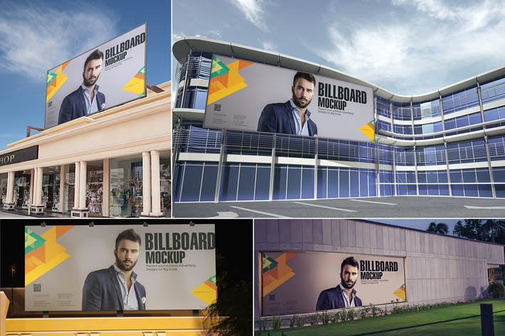 Thumbnail for Outdoor Advertising Mockups