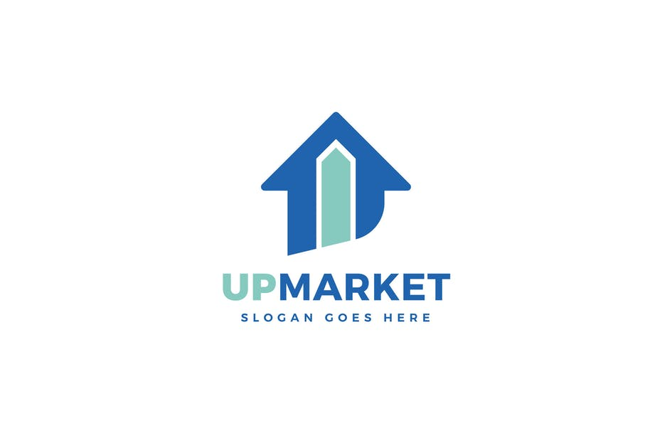 Download Up Market Logo Template by Pixasquare