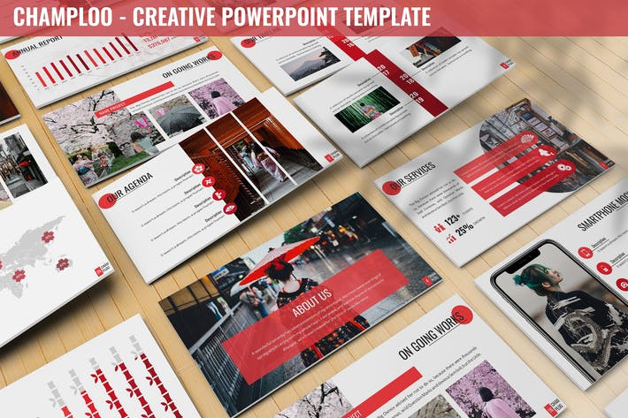 Thumbnail for Champloo - Creative Powerpoint Template
