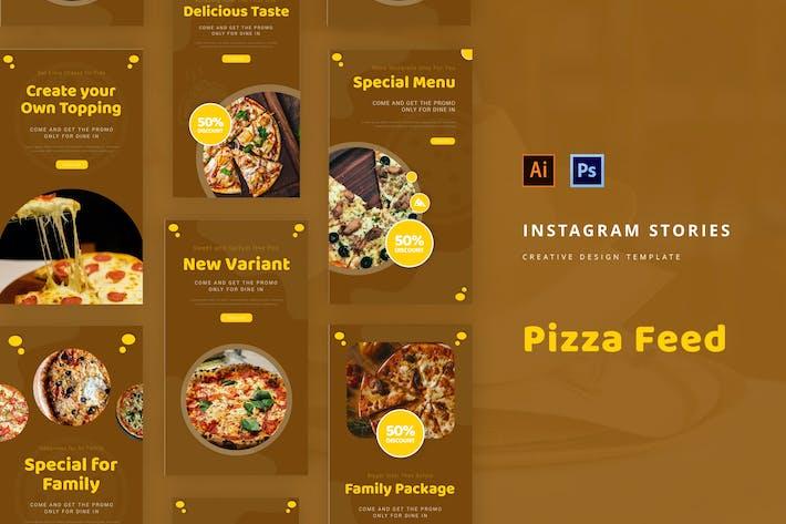Pizza Instagram Story