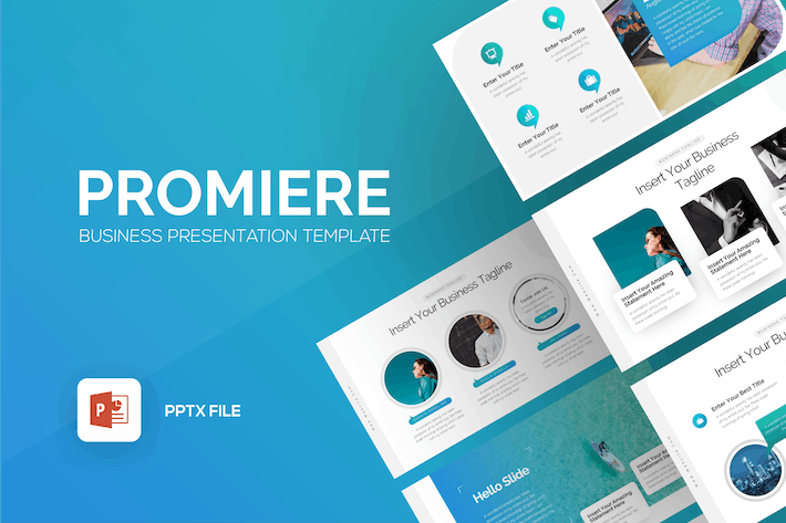 Thumbnail for Promiere Business Presentation