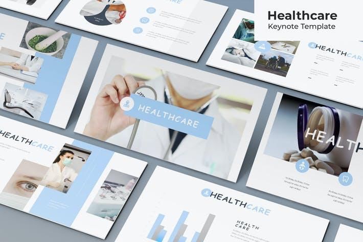 Thumbnail for Healthcare - Keynote Template