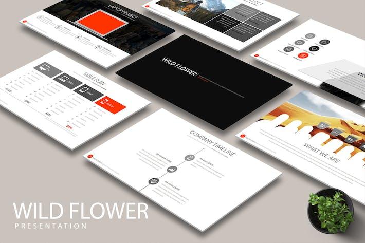 Thumbnail for WILD FLOWER Keynote